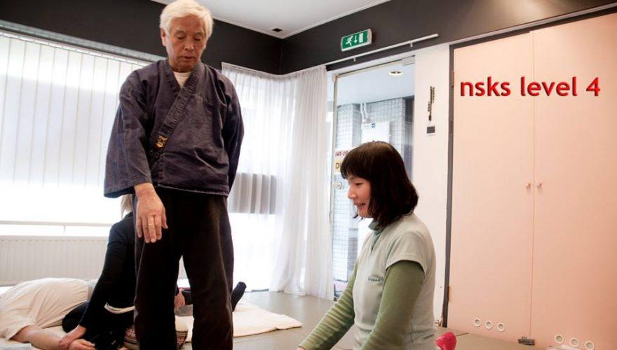 NSKS, shiatsu beroepsopleiding hbo-niveau met Sensei Kawada