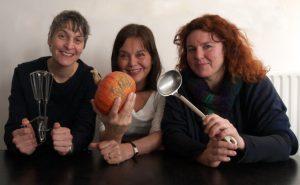 Anushka Hofman, Bini Sharman en Daniëlle Walkenbach. Japans medicinaal koken