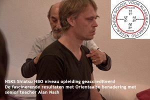 NSKS docent niveau 3 en directeur, Alan Nash