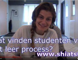 Studenten van NSKS delen ervaringen met het shiatsu leerproces