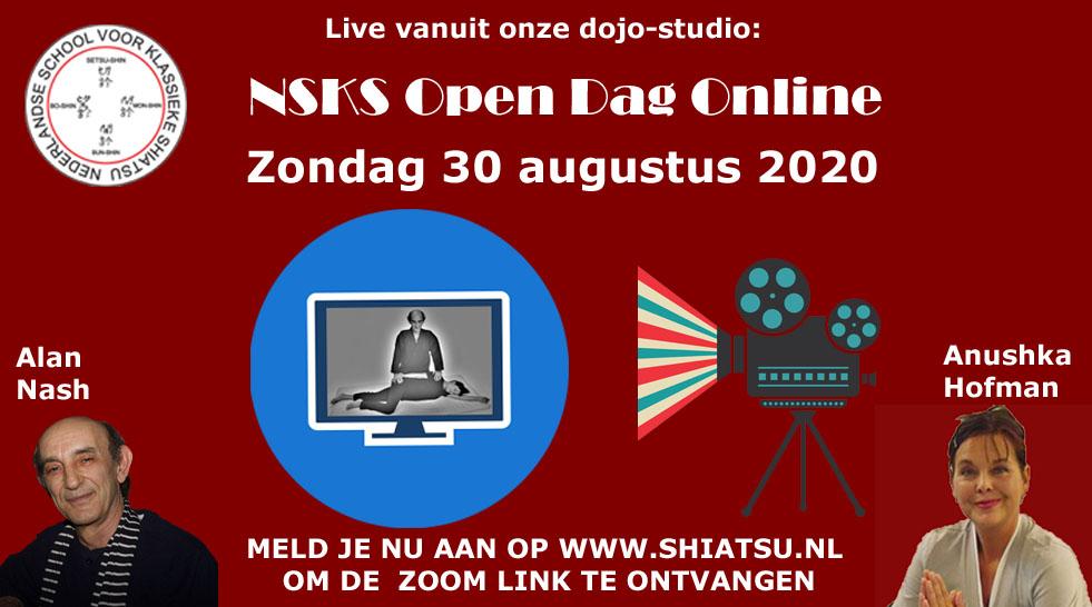 NSKS Online Open dag via Zoom